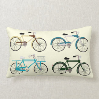 Coussin Rectangle Bicyclettes vintages