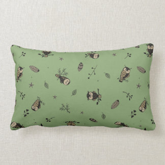 Coussin Rectangle Bois de hibou
