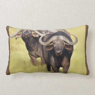 Coussin Rectangle Buffalo africain