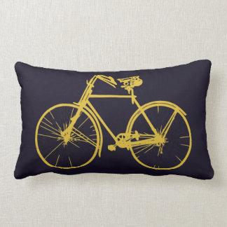 Coussin Rectangle Carreau bleu-foncé pourpre de bicyclette de vélo