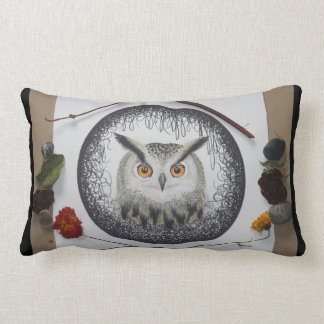Coussin Rectangle Carreau de mandala de hibou