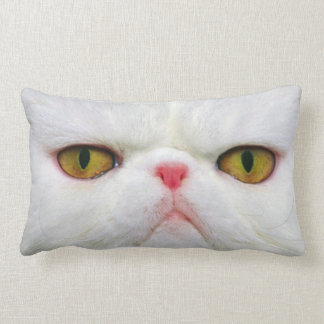 Coussin Rectangle Chat blanc