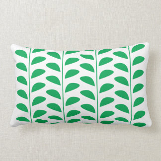 COUSSIN RECTANGLE COPIE VERTE DE FEUILLE
