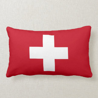 Coussin Rectangle Drapeau de la Suisse
