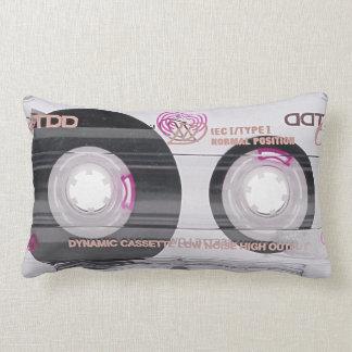 Coussin Rectangle Enregistreur à cassettes de vieille école