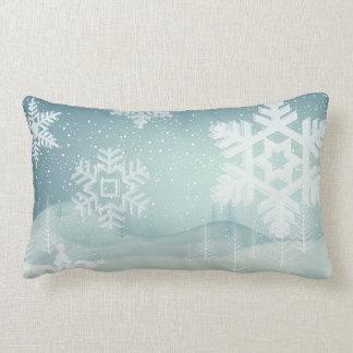 Coussin Rectangle flocon de neige