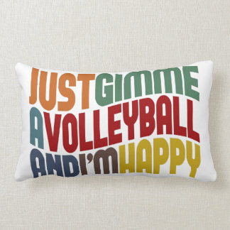 Coussin Rectangle Gimme un volleyball