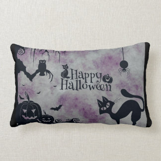 Coussin Rectangle Halloween heureux