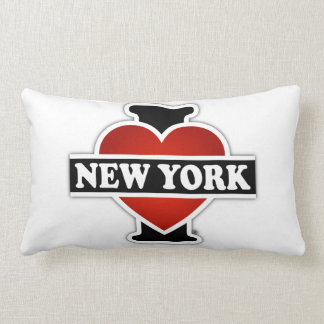 Coussin Rectangle I coeur New York