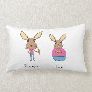 Coussin Rectangle Lapins mignons
