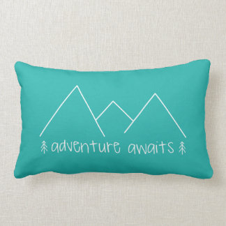 Coussin Rectangle L'aventure attend