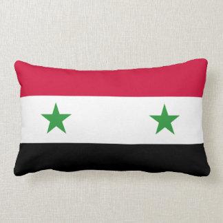 Coussin Rectangle Le drapeau de la Syrie