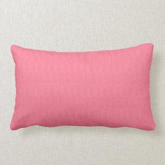 Coussin Rectangle Le modèle rose vide do-it-yourself de texture