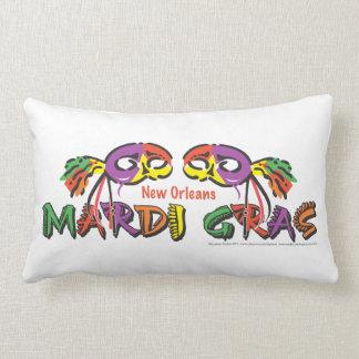 Coussin Rectangle Mardi gras la Nouvelle-Orléans