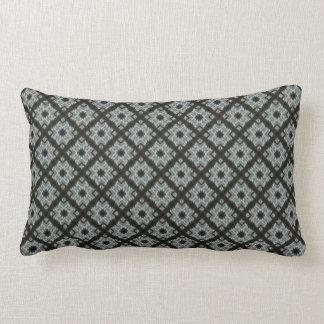 Coussin Rectangle Motif noir gris