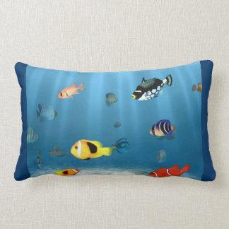 Coussin Rectangle Océans des poissons