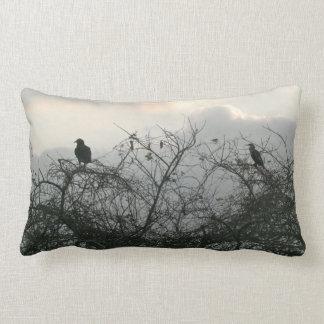 Coussin Rectangle Oiseaux dans la tempête