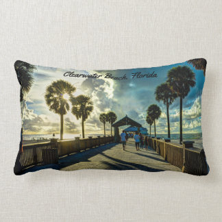 Coussin Rectangle Plage de Clearwater, la Floride