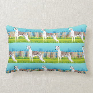 Coussin Rectangle Race de chien de whippet
