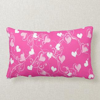 Coussin Rectangle Roses modelés par coeur