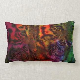 Coussin Rectangle Tigre CUB en pastel