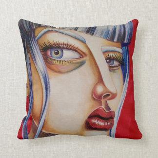 Coussin Red Hot Art Pillow