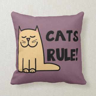 Coussin Règle de chats