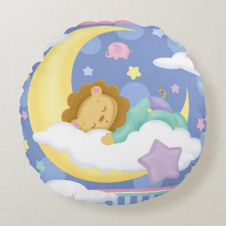 Coussin rond de bébé de rêves doux