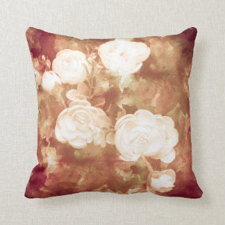 Coussin Rose blanc