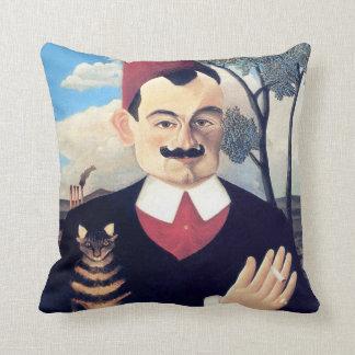 Coussin Rousseau - portrait d'homme de Pierre Loti avec le