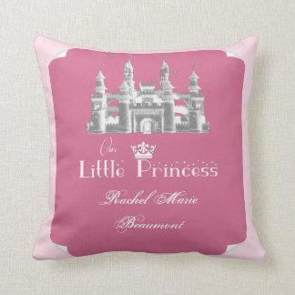 Coussin royal de souvenir de bébé de princesse