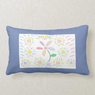 Coussin simple de conception de fleur