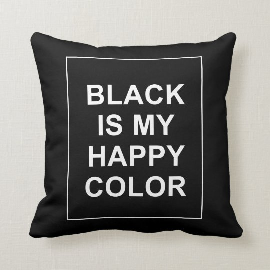 COUSSIN SKAM - BLACK IS MY HAPPY COLOR