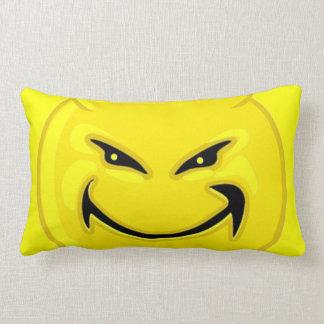Coussin souriant de diable