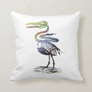 Coussin Squelette d'Ichthyornis