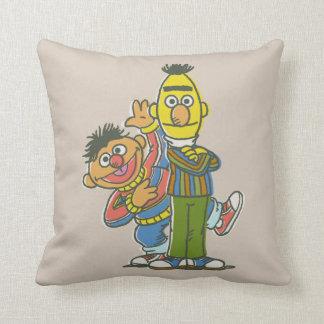 Coussin Style de classique de Bert et d'Ernie