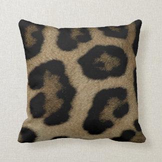 Coussin Taches sauvages de léopard de chat