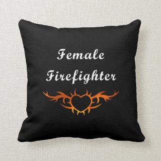 Coussin Tatouage femelle de sapeur-pompier
