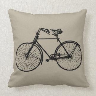 Coussin taupe noir de carreau de bicyclette de vélo