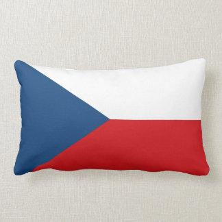 Coussin tchèque de drapeau