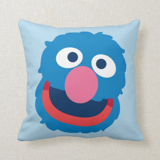 Coussin Tête de Grover