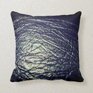 Coussin Texture en cuir