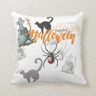 Coussin Tombe d'araignée de Halloween