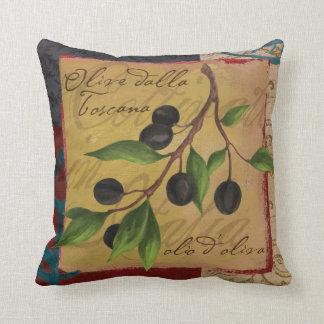 Coussin toscan d'olives