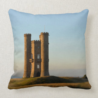 Coussin Tour de Broadway dans le carreau de Cotswolds