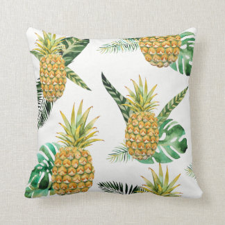 Coussin tropical d'ananas