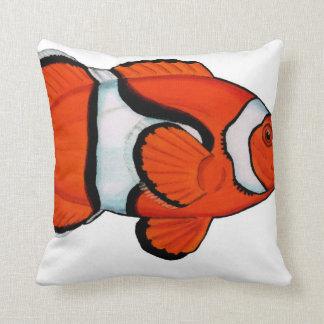 Coussin tropical de jet de Clownfish de récif