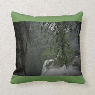 Coussin Vert de cascade
