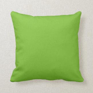 Coussin Vert pour aquarelle squelettique d'éclaboussure de