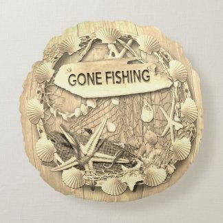Coussin vintage de pêche - pêche allée